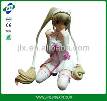 PVC hot sexy cartoon girl figurines, nice gift for girl