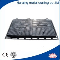 ductile cast iron water meter manhole cover of Anti-theft
