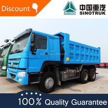 Whole sale price 336hp 371hp 25-30tons howo rock van-body tipper