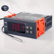 2016 New DC 12V oven Digital Thermostat electric Temperature Controller with Warning Function