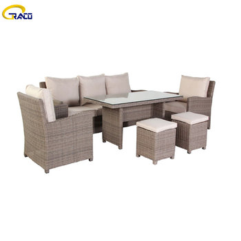 Modern leisure rattan outdoor sofas new fashion outdoor sofa sets