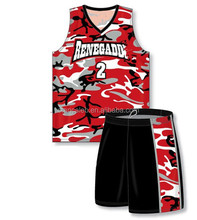 Stan Caleb Custom Design Camo Basketball Uniforms with high quality