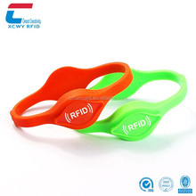 New Design Comfortable Design Printed Silicone Rfid Wristband