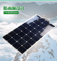 High quality 100W monocrytalline silicon solar panels hot sale solar module solar system cell factory price