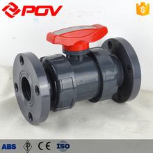 Water control floating water shut off Manual Flange ball valve