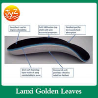 Factory sale 3/4 Extra comfortable orthotic insoles,flat foot orthotic insole