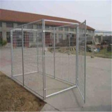 Large Mesh Full Dog Run outdoor galvanized expandable dog fence panels/dog backyard run fence panels