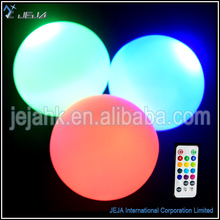 Multicolor 8cm Led Pool Light Up Outdoor Ball Furniture