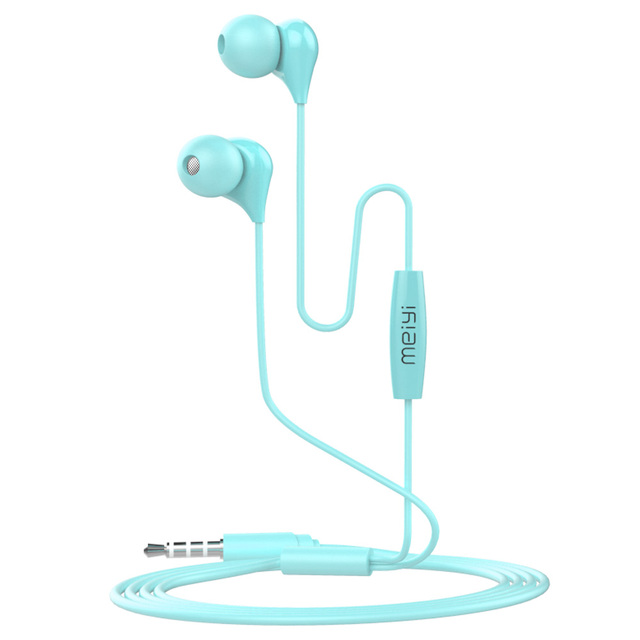 New fashionable stylish The Latest Cheap Stereo Wired Metal Earphones kids earphone