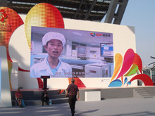 new products 2015 p10 led screen/advertising led screen display DIP