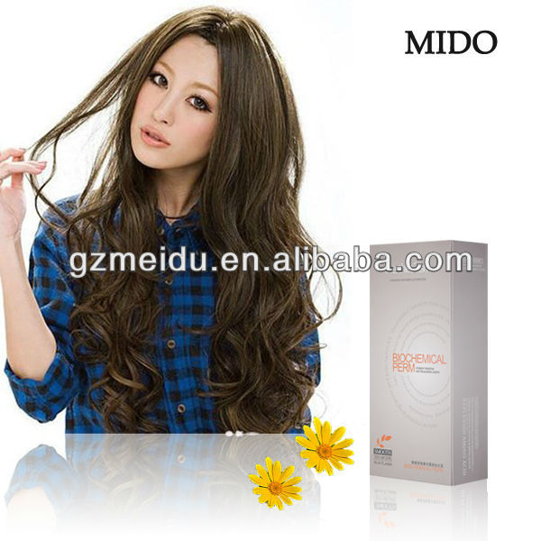 MIDO Indian perm human hair perm solution