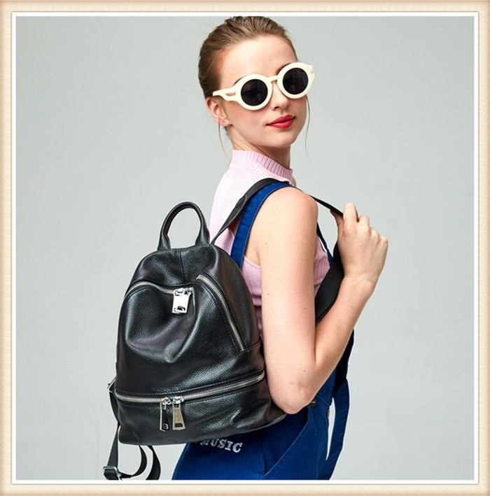 Most Popular Elegant Fashionable Backpack Bag, Latest Leather women backpack