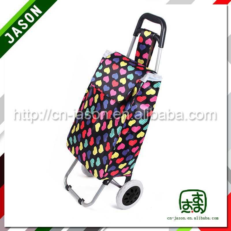 folding shopping trolley collapsible basket stock lot