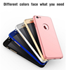 For Iphone 7/7 plus luxury brand 360 Full body cases Hard Case Cell Phone back cover for Iphone 7 /7 plus