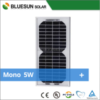 Bluesun high efficiency mini 5 watt solar panel/pv module 5w 4.5v solar cells