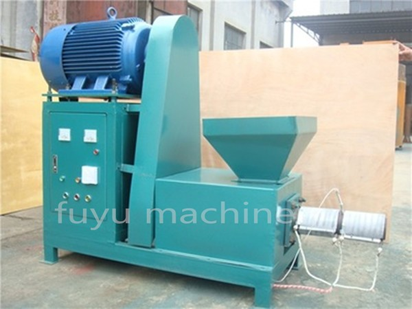 From agricultural waste sugarcane bagasse briquette machine / peanut shell charcoal making machine
