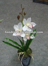 Beautiful artificial decorative potted flowers for indoor or outdoor