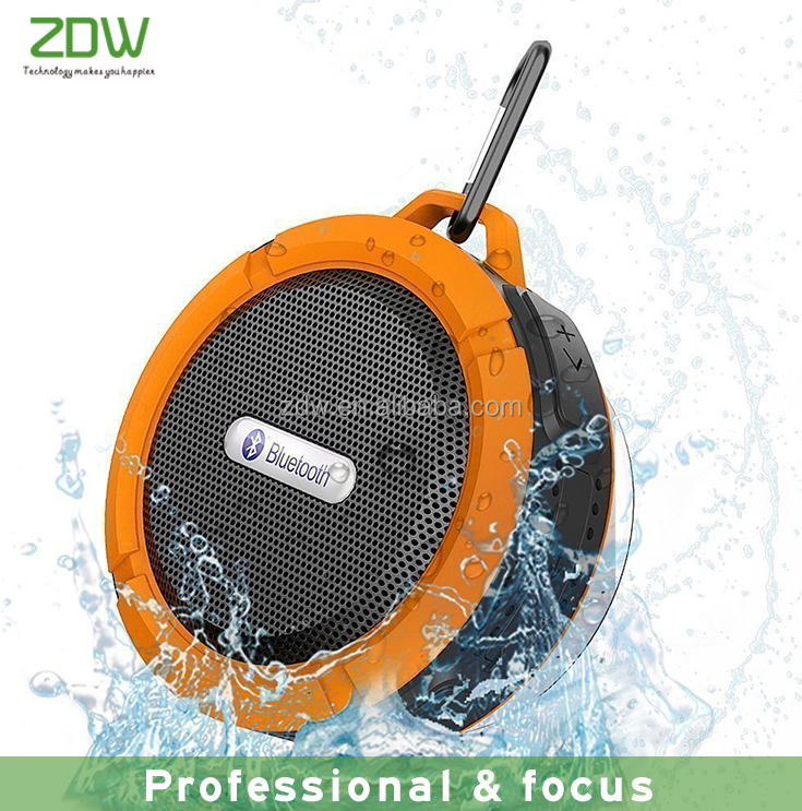 Amazon best sellers 2017 high quality 3w mini waterproof bluetooth speaker with TF card