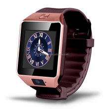 2016 China Factory Direct Outlet Android Smart Watch DZ09 Smartwatch Phone with Whatsapp, Facebook and Twitter