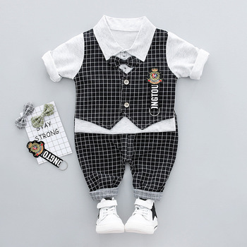 baby boy boutique clothes party wear wholesale baby boys clothing suit
