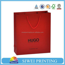 2015 custom decorative mini food grade handmade ecofriendly paper shopping bag for electronic