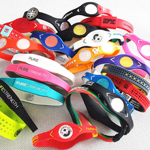 Standard Size Low Factory Price Power Silicone Ion Balance Bracelet