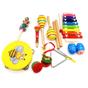 Toddler Toys Musical Instruments - Prime Wooden Baby Toys for Kids Preschool Educational Early Learning Offworld percussion inst