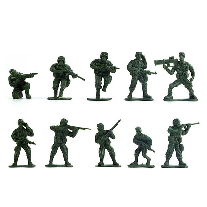 ICTI approved Factory Cheap Small Plastic Toy Army Soldiers
