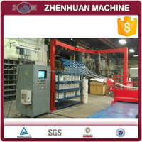 Glass fiber winding machine for GRP pipes