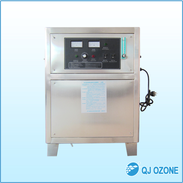 ozone generator for fish aquaculture, water disinfection for arowana fish farm and barracuda fish