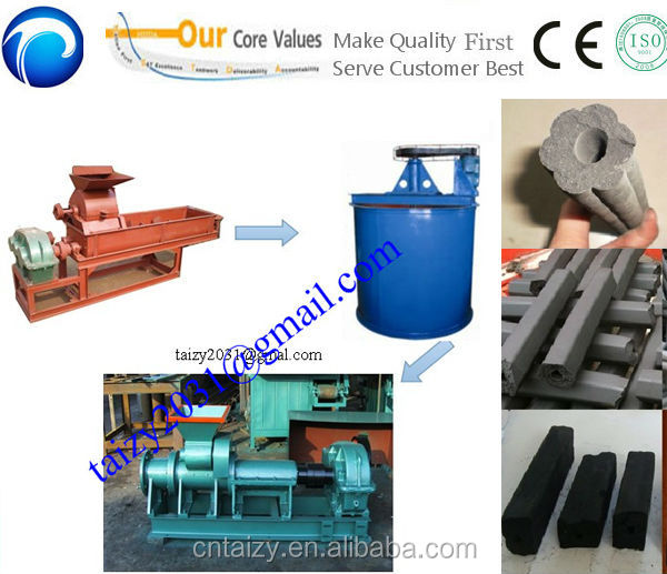 charcoal and coal briquette extruder machine/ charcoal powder briquette extruder/carbon black briquette extruder