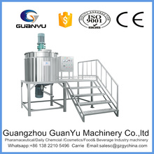 smart control vacuum homogenization mixer for mayonnaise process