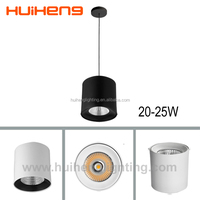 new products 180*185mm downlight fixture, epistar chip 18watt 20w 25w 28w led Surface Mounted Downlight