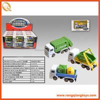 2014 toys metal garbage toy truck for sale small size garbage truck PB74719803