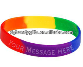 Hot sale free rubber bracelets for a cause