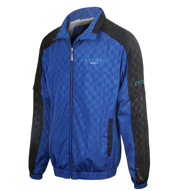OEM & ODM waterproof polyester men's outdoor golf sports jacket/coat