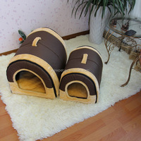 Top quality new design retro style round pet house fashionable dog house wholesale