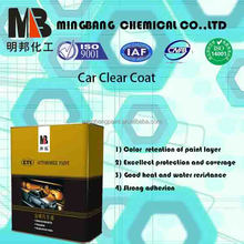Glossy fast drying car paint clear varnish for auto repair