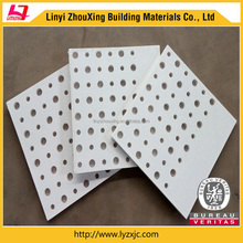 high strength decorative punched plaster suspended ceiling