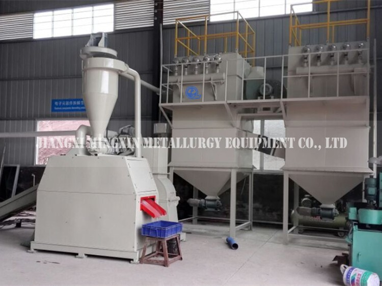 Factory direct sell Type E scrap recycling equipment / Waste PCB recycling machine