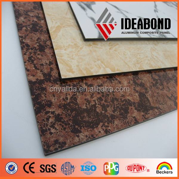 IDEABOND fireproof office aluminium composite decorative wall panel