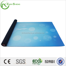 Zhensheng fashion design suede surface yoga exercise gymnastics mats