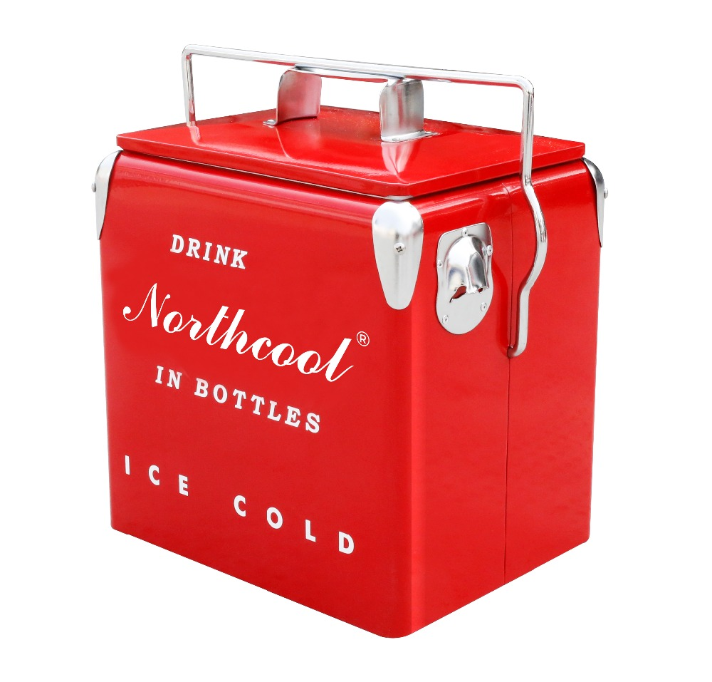13L ICE CHEST Ice bucket Metal foam cooler box