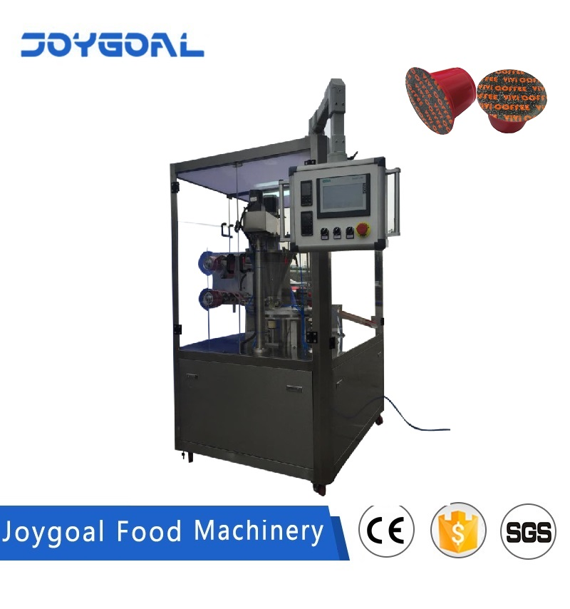 JOYGOAL high speed full automatic dolce gusto coffee capsule filling and sealing machine
