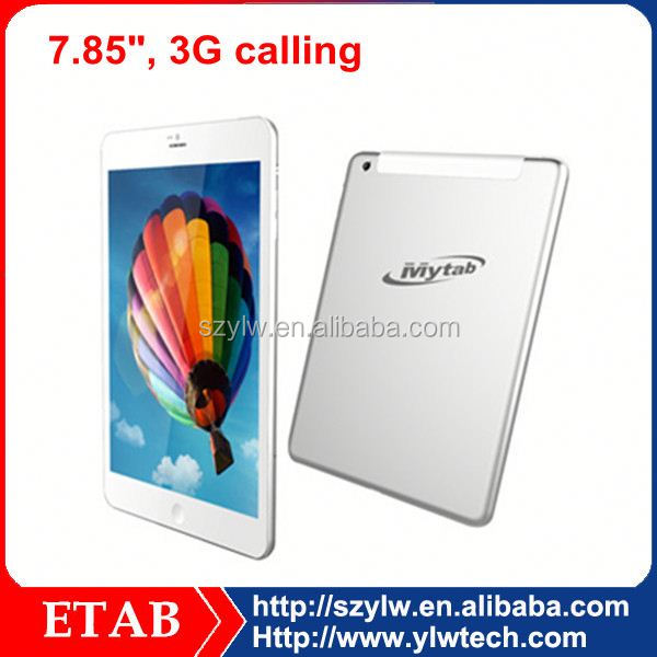 7.85 Inch MTK6577 dual core chinese oem cdma gsm 3g tablet pc