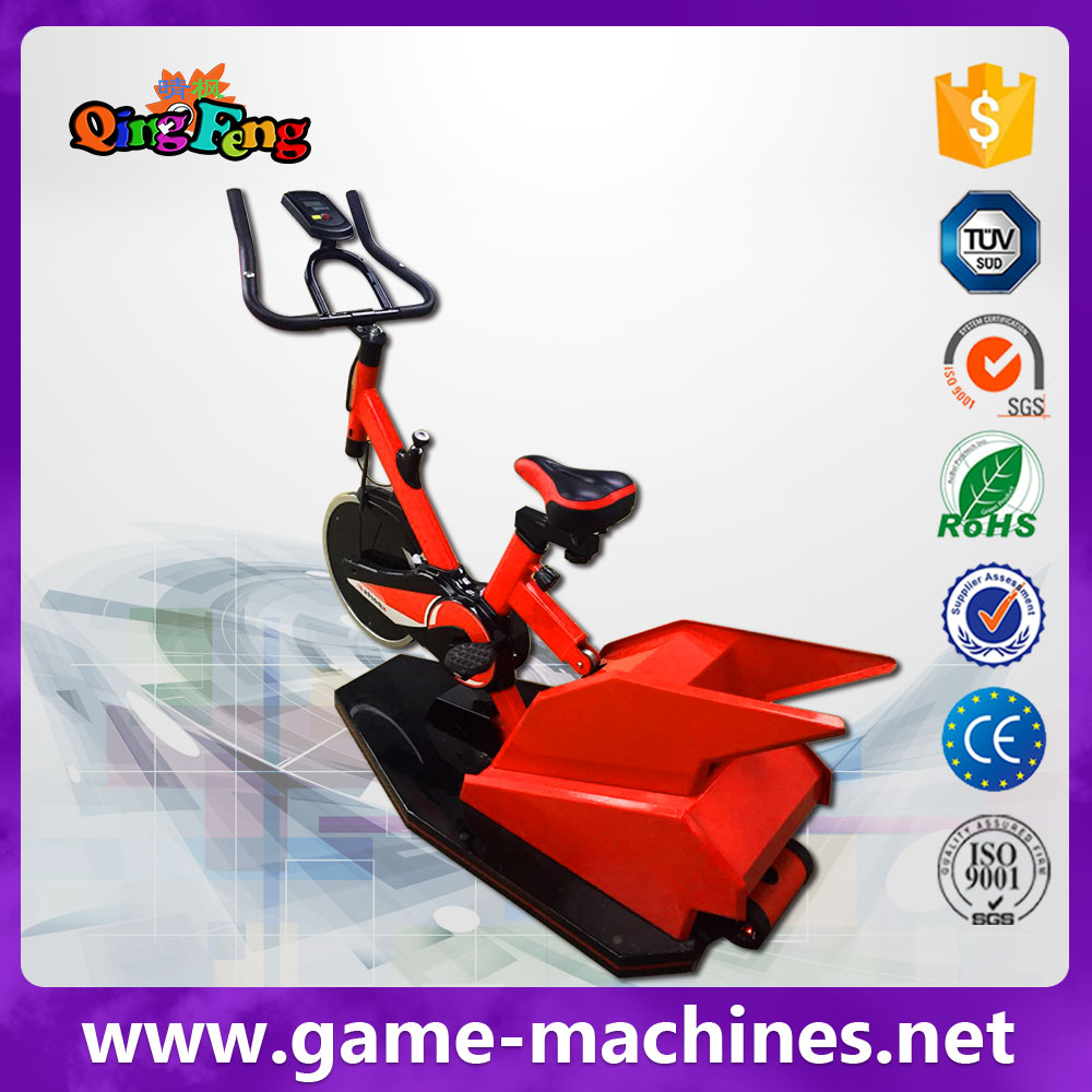 theme park, gym, shopping mall Christmas day discount 9D VR bike racing games machine