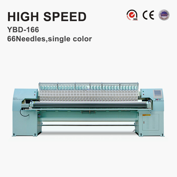 YBD166 High Speed Quilting Embroidery Machine for car seat