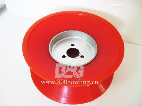 Brunswick GS series bowling spare part ball lift wheel (red) 53-520060- 001