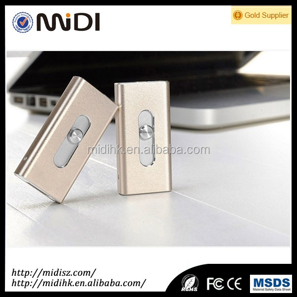 MDY-PG-01 Promotion Gift Metal OTG Push-mode Usb Flash Drive, Flash Drive Usb 3.0 for Phone,Computer