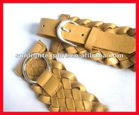 2013 new design fashion canvas belt for lady